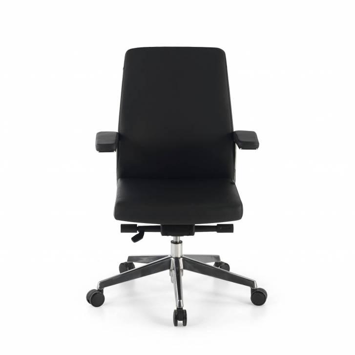 Vanity Armchair Low Black