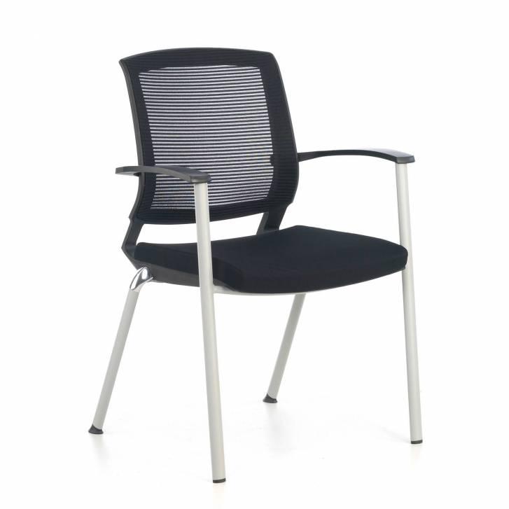 Maya Guest Chair Black