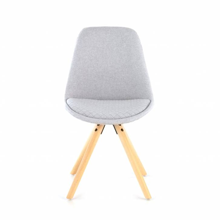 Nordic Chair Upholstered Grey