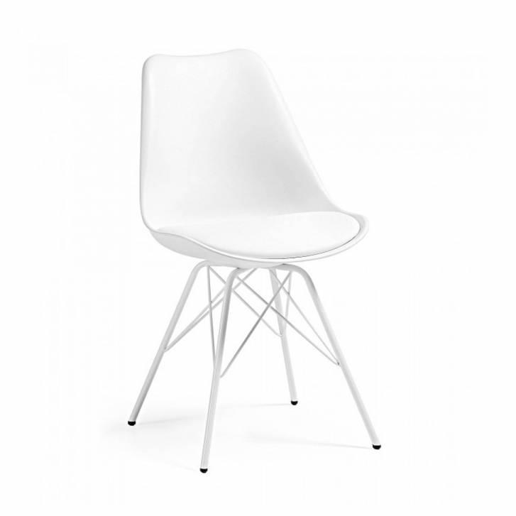 Nordic Chair Metal White