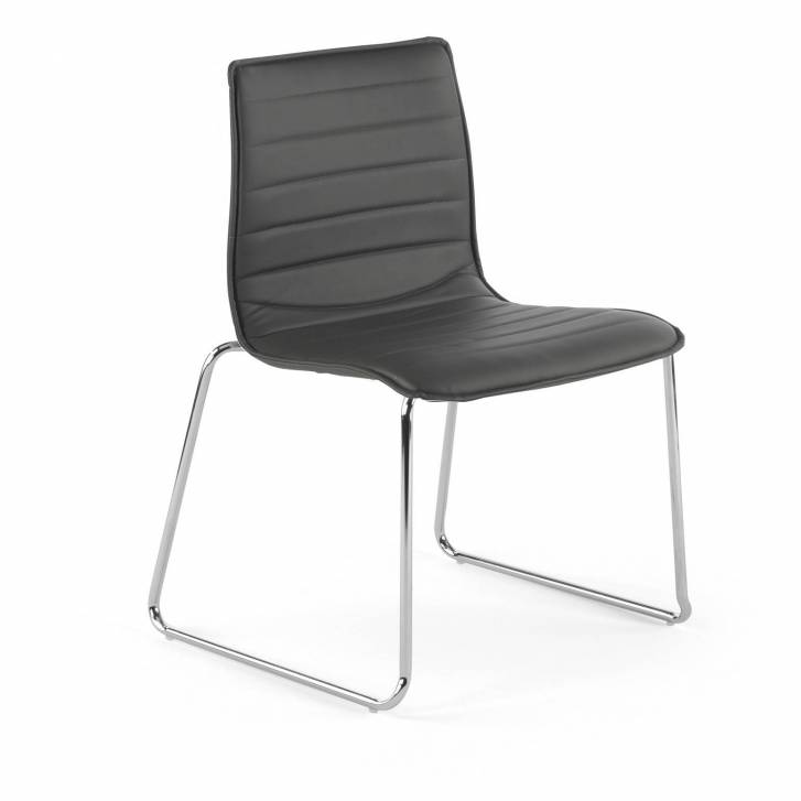 Cube Chair Cantilever Grey